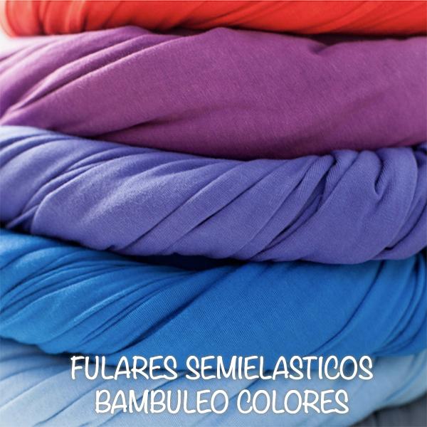 FULARES SEMIELASTICOS BAMBULEO COLORES