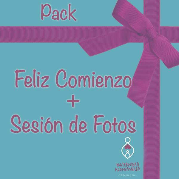 Pack Feliz Comienzo y Sesion de Fotos