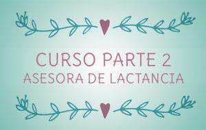 CURSO ASESORAS DE LACTANCIA MATERNA. (pago fraccionado 2)